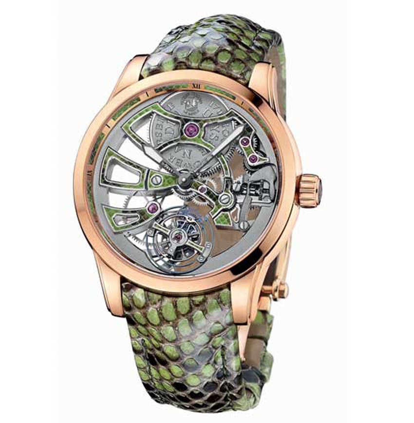 Ulysse Nardin Royal Python Skeleton Tourbillon
