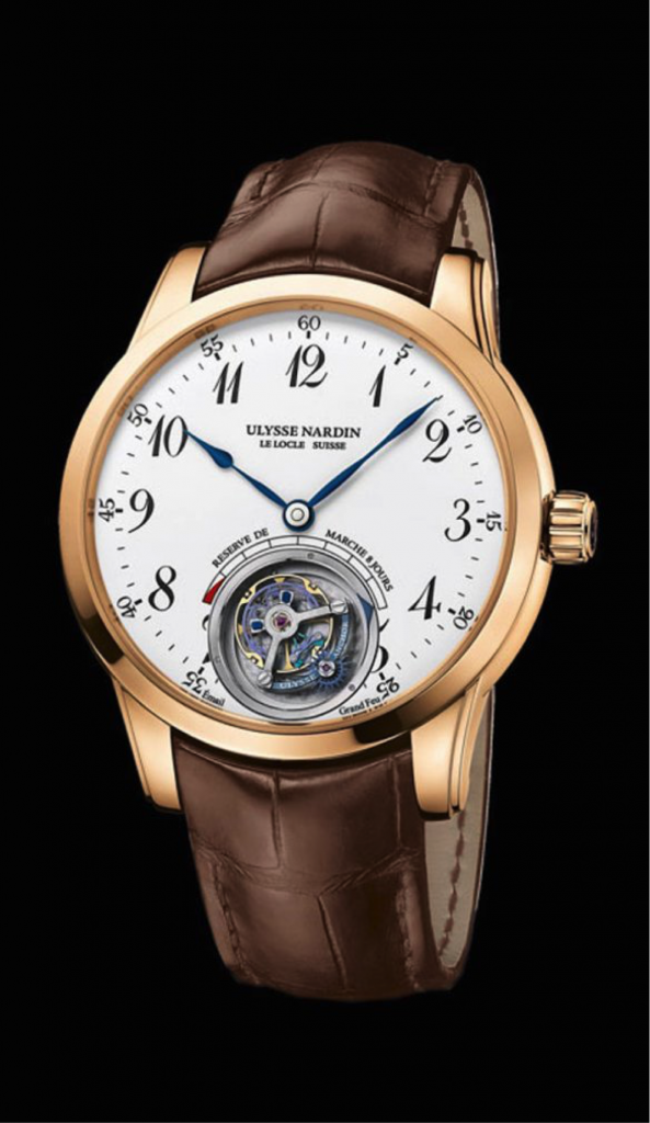 The patented Anchor Tourbillon combines a revolutionary constant force system and 60-second tourbillon.
