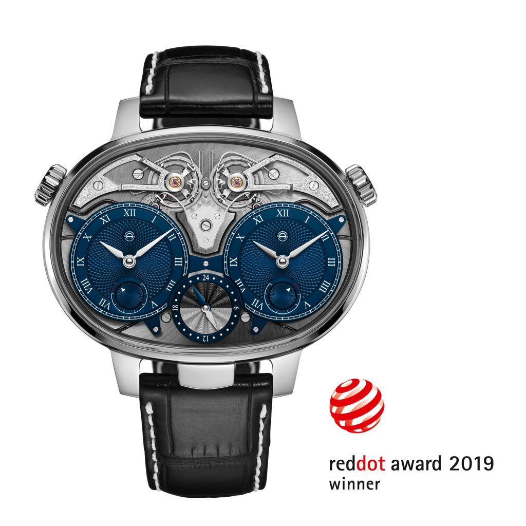 Armin Strom Dual Time Resonance Watch Wins Red Dot Award.