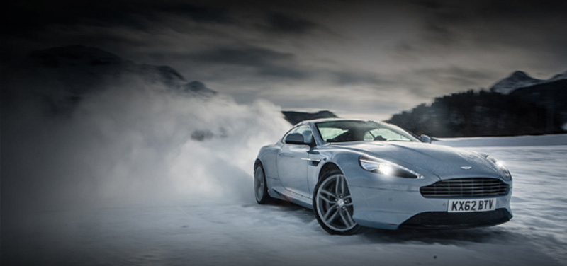 Aston Martin cars are made with top-performance components and materials.