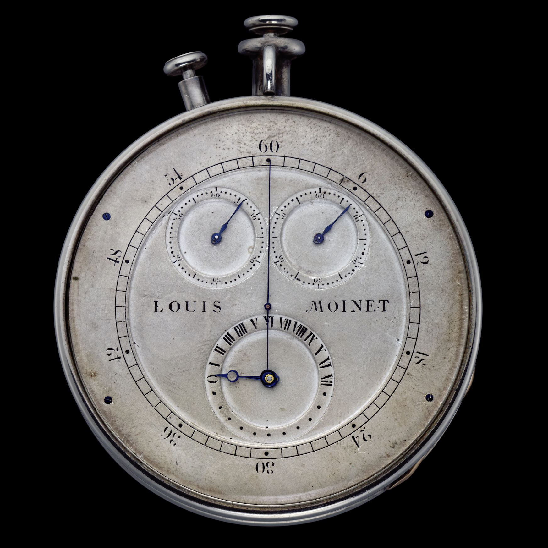 Louis Moinet invented the chronograph in 1816.