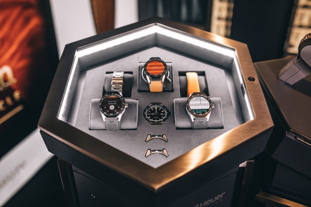 "The Swiss-Made TAG Heuer Connected Modular 45 watch used in ""Kingsman: The Golden Circle"""