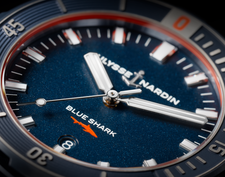 Ulysse Nardin Diver Blue Shark watch