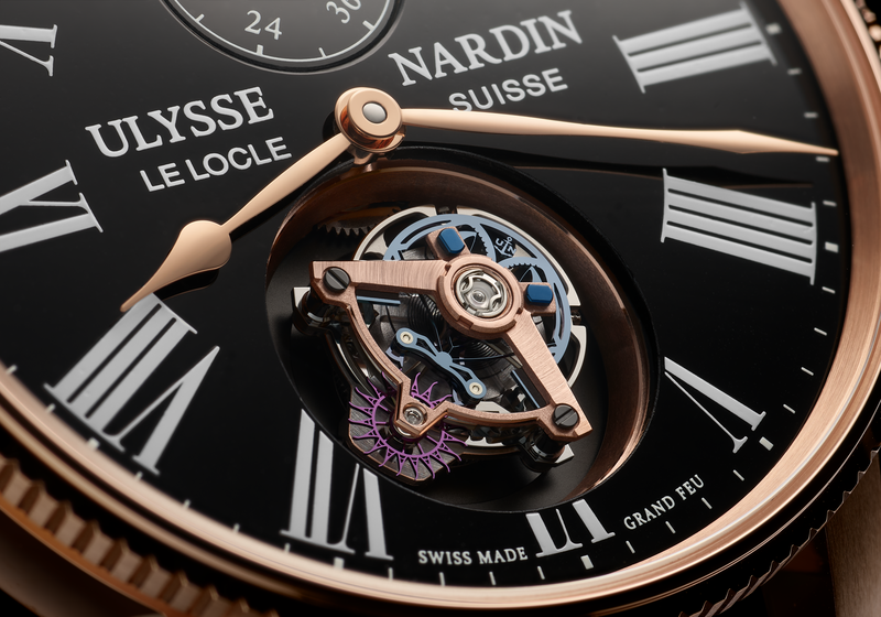 Ulysse Nardin is a leader in high-tech materials
