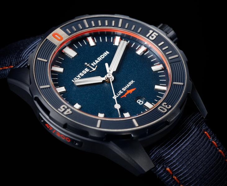 Ulysse Nardin Diver Blue Shark watch