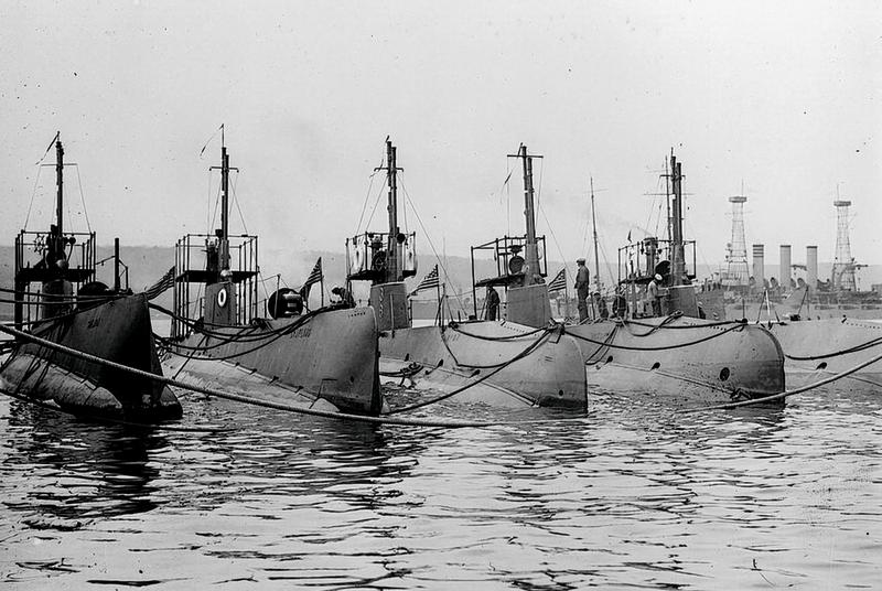 US submarines, circa 1942.