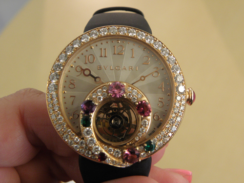 Bulgari Berries Tourbillon Retrograde Hour watch