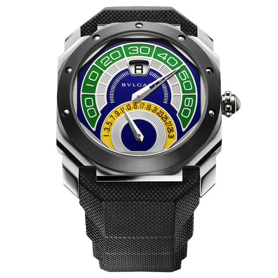 Bulgari Special edition World Cup OCTO Bi-Retro