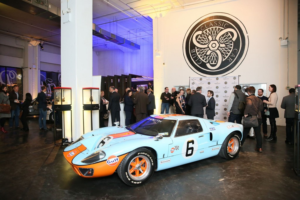 ZENITH WATCHES LAUNCHES: PARTNERSHIP WITH THE SPORTSCAR VINTAGE RACING ASSOCIATION